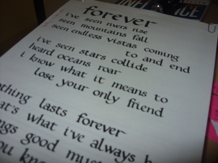 Forever is the way I feel for you